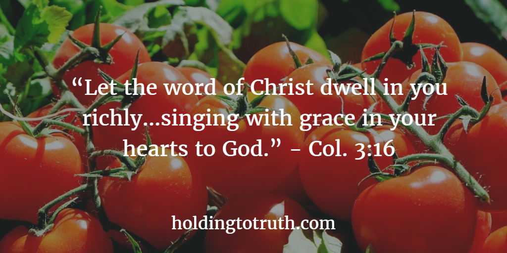 Sing the Word of God